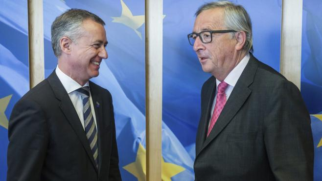 Urkullu defiende ante Juncker una Europa «con alma» con más protagonismo de las naciones sin Estado