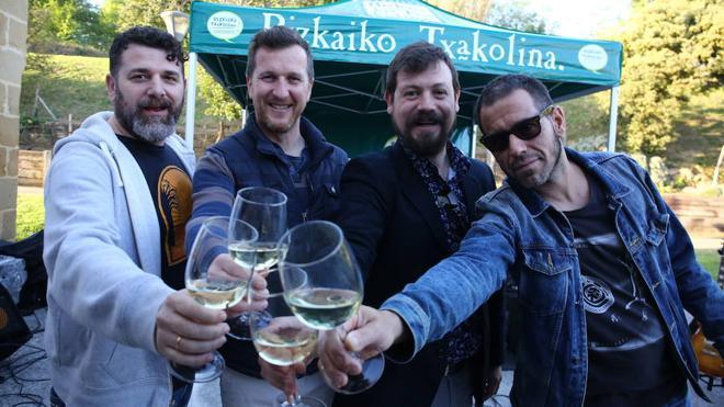 Areatza combina la Feria de la Cerveza con un festival de música