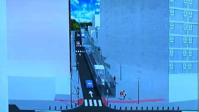 Luz verde al ascensor de la cuesta del polideportivo de Txurdinaga