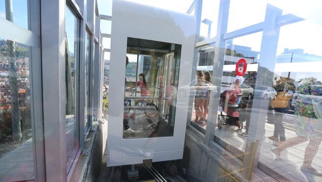 El ascensor de Arangoiti vuelve a funcionar tras permanecer 11 días parado
