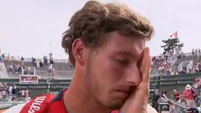 Las lágrimas de Pablo Carreño: «Es la mayor victoria de mi carrera»