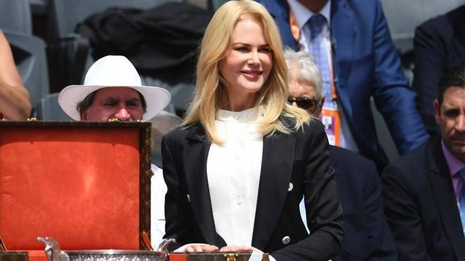 El rey Juan Carlos, Gasol y Nicole Kidman, testigos de la final