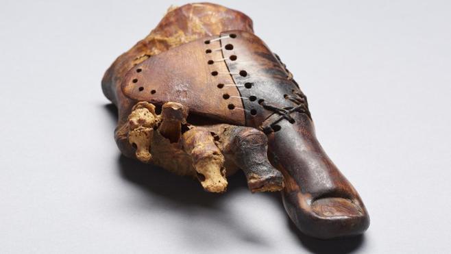 Desentrañan los secretos de la prótesis más antigua del mundo