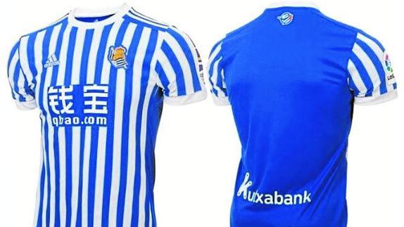 El innovador diseño de las nuevas camisetas de la Real  72e8d6ae26502