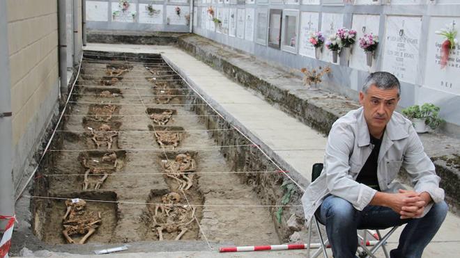Orduña prepara el caminopara exhumar a un centenar de víctimas de la prisión franquista